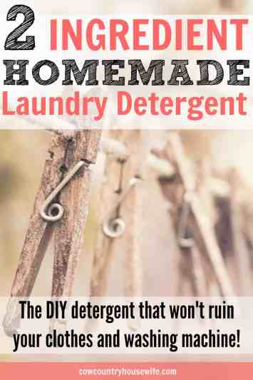 This is the best homemade laundry detergent that I've ever used! I've tried all of the other recipes on Pinterest and this is the best one! It's so easy and effective. This is the easiest homemade laundry soap. You'll want to try this out to save money making your own laundry detergent!