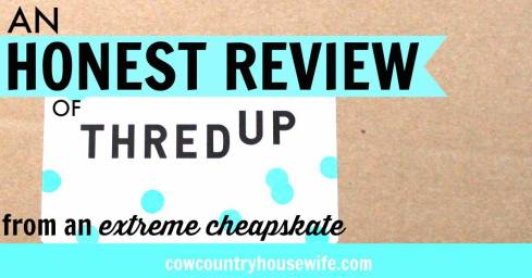 I love this! I'd never heard of ThredUp but now I can't wait to try them out! I love that she shares how to save even more money from this designer consignment store. Saving money buying clothes doesn't have to mean sacrificing fashion! These outfits are amazing! An Honest Review of ThredUp from an Extreme Cheapskate
