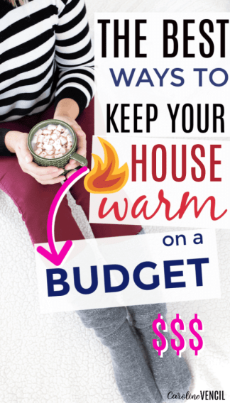 How to save money this winter by keeping your house warm and winterized. Stay warm on a budget while frugally making your house warm to save money while on a budget. The best ways to start to save this winter.