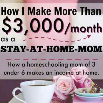 How I Earn Money as a Stay-at-Home Mom