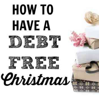How to Have a Debt-Free Christmas