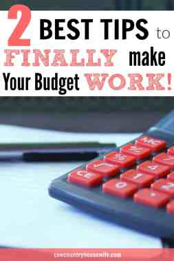 This is great! These are the biggest budgeting lessons to make your budget stick. If you stink at budgeting, this is for you! I love this. These are so easy, but I really didn't even think of it! Number one is my favorite! The 2 Biggest Budgeting Lessons to Make Your Budget Stick.