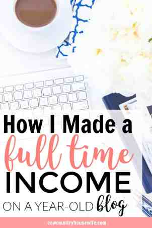 This is amazing! She made a full-time income blogging in her first full year blogging. This is so inspiring! I love her income reports and now she spells out the entire year, of what worked and what didn't. If you want to make a full time income from blogging, you need to read this! How I Made a Full-Time Income From My Blog.