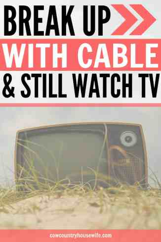 This is great! She shows you how you can get rid of cable and still watchTV as much as you want! You don't need to deprive yourself when you cut cable! Can you get rid of cable and still watch TV? Cut cable and never miss your favorite shows again. Get rid of cable and still get premium channels and sports.