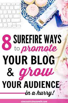 These are amazing!! She tells you everything that you need to know as a new blogger to promote your blog and grow your audience fast. Everything that you need to start a profitable blog the right way form the beginning. A new blogger's guide to getting traffic and growing!