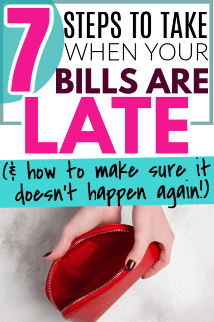 What to do when the bills are late and you have no money and can't pay the bills? How do you find money in your budget or account to pay for late bills to avoid collections or overdue bills or interest? Learn the best tips, tricks and ideas for how to start managing your money for beginners and get bills paid on time (no really, it's legit).