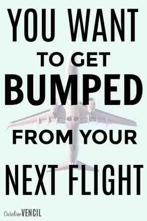 This is crazy! I never knew that you could actually benefit from getting bumped from a flight! You can even volunteer to be bumped and make a LOT of money! How to get bumped from a plan. Why do you get bumped from a plane. How to make money getting bumped from a plane. How to volunteer to get bumped from a plane. How to make money by getting bumped form a plane. Tips to volunteer to get bumped form a flight and make money . How to make money getting bumped from a flight. How to volunteer to be bumped from a flight. Make money flying. How to get the best deals when you get bumped form a flight. How to save money traveling. How to save at the airport. Save money flying. Why You WANT to Get Bumped from Your Next Flight!