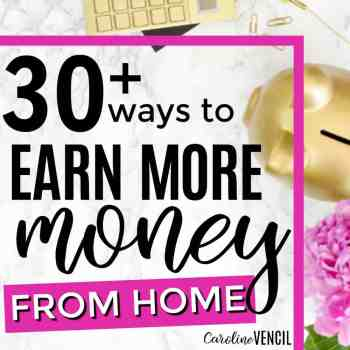 30+ Real Ways to Earn Money From Home