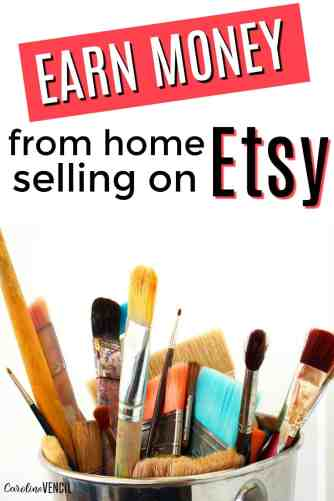 This is so cool! I never knew you could earn a full-time income from Etsy! I love hearing stories about people starting their own business and being their own boss. Make money form home with Etsy. How to sell on Etsy. Starting an Etsy business. Entrepreneur interview. How to Earn a Full-Time Income from Etsy.