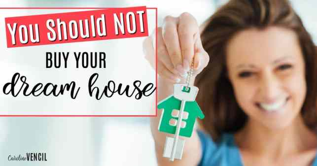 This is great! She makes so many amazing point! I'm so glad I found this before I bought a house. First time homebuyer tips. Home buying tips. How to buy a house. buying your first house. Tips for buying your first house. How to pick a house to buy. Dream houses. House to buy. House not to buy. Budgeting for a house. How to buy a house on a budget. How to afford the house that you need. Home buying wants and needs. You Should NOT Buy Your Dream House