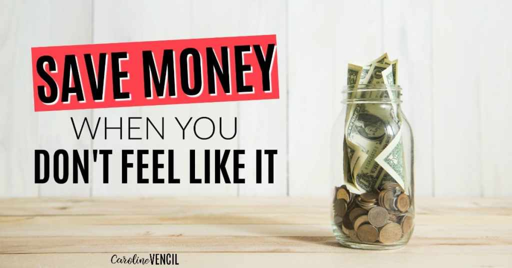 This is so great! If you ever need help staying on budget, this is perfect! She will help you save money the easy way when you don't feel like it. This makes sure that you won't feel like a failure when your budget doesn't work. Trust me: you're not alone in that! How to Save Money When You Don't Feel Like It. Save money automatically. How to make saving money easier. Easily save more money. How to get back on budget. How to stay on budget when you don't want to.