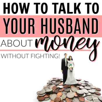 How to Talk With Your Husband About Money