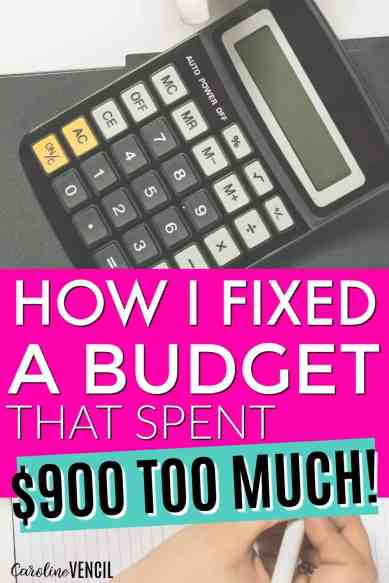 She used these budgeting tips to fix a budget. HECK YES! This is one of the best money saving and budgeting blogs I've found! This is amazing! I'm so glad someone finally talked about this! I needed to know how to fix a budget that spent more than it made and this really is perfect! This is a complete guide to getting started with a budget. How to start working on a budget for beginners. How to start a budget when you suck at budgeting.
