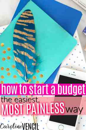 YES! This is EXACTLY what I needed to start a budget! Seriously, I suck at budgeting and this is actually something that I can do!! Seriously, I love her blog! This is the best budgeting blog! She's so relatable and really makes it easy to start a budget the easy way! I love painless budgeting for people who suck at budgets like me! PERFECT!