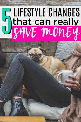 This is so great! If you ever needed to find the top 5 places to cut a budget, this is it! 5 Lifestyle Changes to Really Save Money.