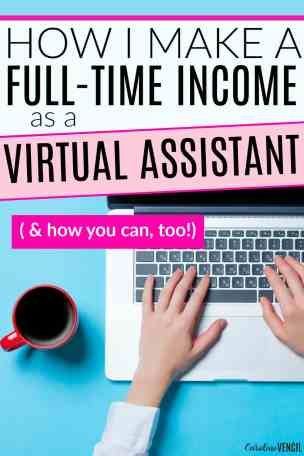 This is AMAZING! She shows you exactly ehst it's like to be a virtual assistant and what it takes to be one for yourself. This girl makes a full-time income from home being a virtual assistant while working part-time hours. She's amazing! Plus, this is REALLY helpful if you want to learn how to do it for yourself! I never even knew that this was possible, but I'm so glad I read this! If you're looking for legit ways to work form home, this is IT! How to Become a Virtual Assistant and Make a Full-Time Income Doing It!