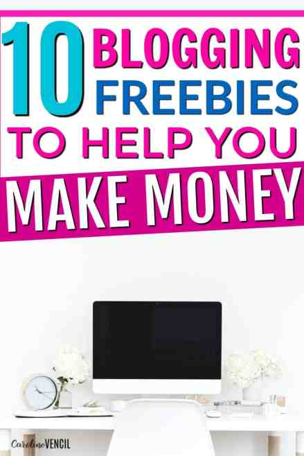 These are AMAZING!!! These are the best blogging freebies from top bloggers who make more than a full time income from blogging! How to start a money making blog. Starting a profitable blog. Free blogging resources. Free ebooks and printables for blogging. Best tips for new bloggers. Start a new blog.