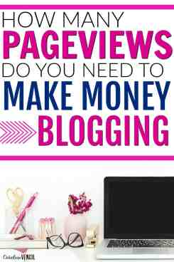 This is AMAZING! She finally tells you how many pageviews you need to actually make a full-time income from blogging! someone finally shared what it takes to actually make money from a profitable blog. I've been following her for a while and she's the real deal. She makes more than $15,000/month from blogging alone and is doing a doing SO well!! Tips and tricks to making money from a new blog. How long it takes to make money blogging.