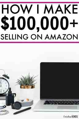 This is SO COOL! If you've ever wanted to know how to start selling on Amazon FBA or how to sell on Amazon FBA for beginners! She makes a full-time income from her Amazon FBA side hustle. Make money from home as a stay at home mom on Amazon.