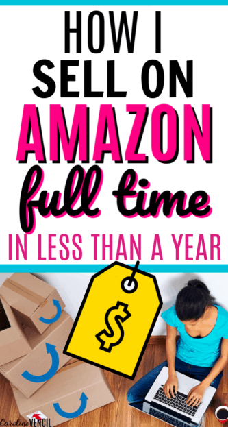 How I Earn Thousands working at home Selling on Amazon as a Hobby! My friend does this by selling on Amazon – it's easier than I thought to make money from home selling on Amazon FBA. How to start selling on Amazon from someone who makes $100,000 a year! You could do this as a side hustle or a full time income! Perfect for busy moms!