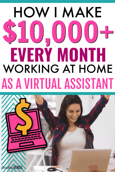 You don't need a college degree to start working from home as a virtual assistant and make a full time income. This beginner's guide will help you launch a successful VA or virtual assistant career while you work at home with absolutely no experience required! How I Make a Full Time Income Working at Home as a Virtual Assistant.