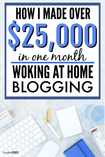In December of 2018, I earned $25,202 blogging. Yes, just one month working from home part-time as a mom of 4 kids! I share everything in my blogging income reports so if you want to learn how to make money blogging, you need to check this out. How to make money blogging and learn how to do it for yourself. #blogging #bloggingtips