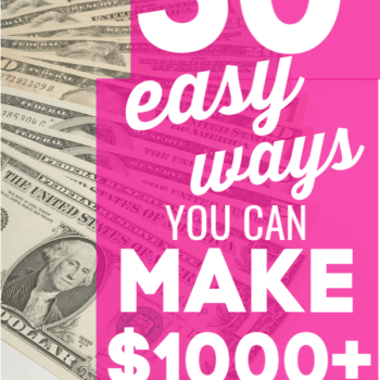 This is GREAT and doable for anyone, even busy stay-at-home moms! How to make an extra $1000 from home for anyone is a great boost in income for a part-time gig! If you want to make money from home, then you have got to read this post and get ideas, motivation, tips, and inspiration! Awesome, weird and easy ways to make money from home that are legit.