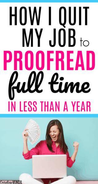 How to Make Money From Home as a Proofreader. Making money at home as a mom by proofreading. Easy way to start proofreading as a full time job for beginners to make extra money.