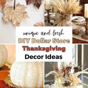Allia (NEW) - Dollar Store Thanksgiving Decor Ideas