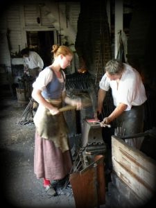 blacksmith-clipart-colonial-time-3-225x300 Author's Blog Highlighting Historical
