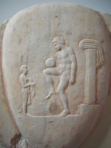 Ancient_Greek_Football_Player Author's Blog But First Coffee Life in General Writing