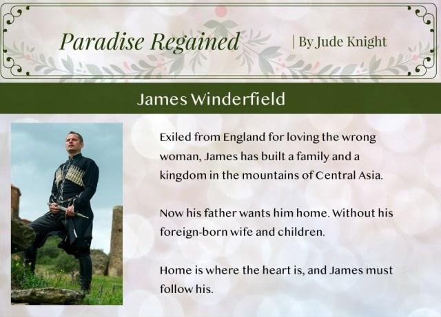 PR-James-Winderfield Highlighting Historical Romance