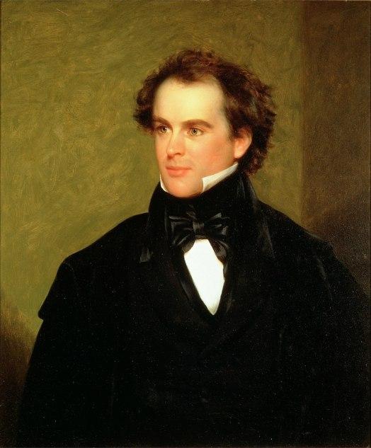 894px-Charles_Osgood_-_Portrait_of_Nathaniel_Hawthorne_1840-848x1024 WIP Wednesday