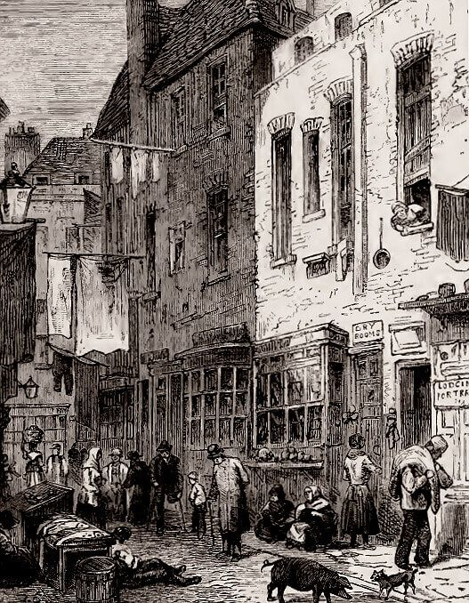 St-Giles-Rookery-London Historical Romance