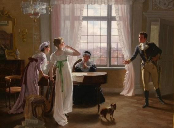 Volkhart-Visit Highlighting Historical Romance