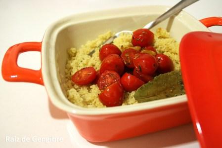 241. Couscous marroquino com tomatinhos