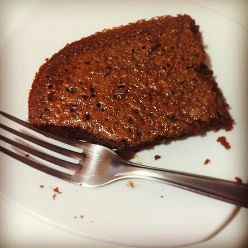 202. Brownie de amêndoas sem farinha
