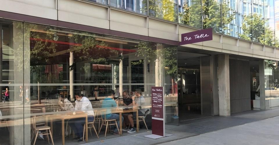 Londres: The Table Café