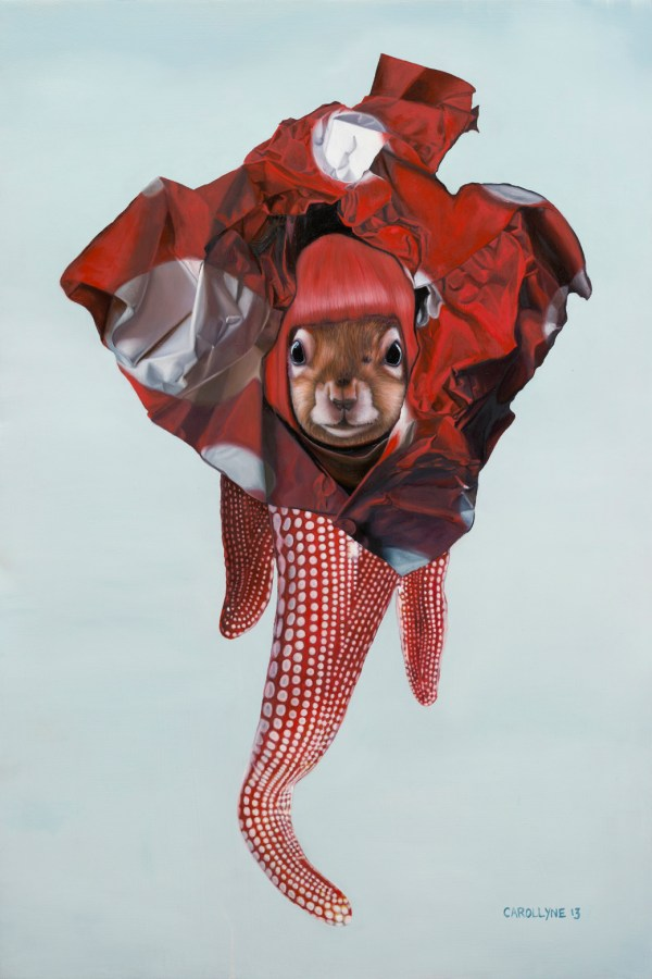 Yayoi Kusama Squirrel Pop Surrealism Art Of