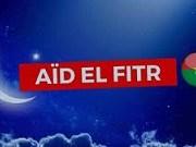 Bonne fête d'Aïd al-Fitr
