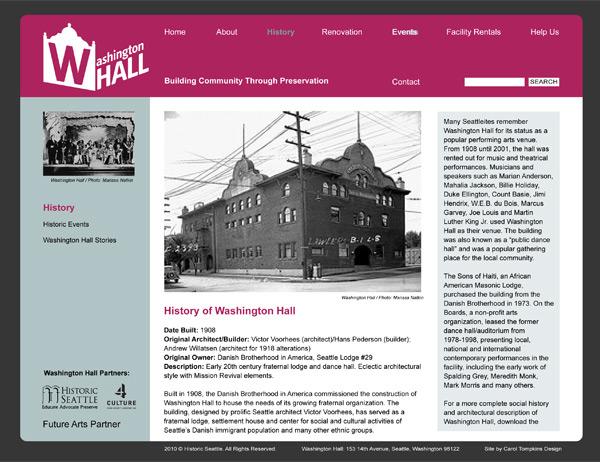 WaHall VisDesign 4, history.html