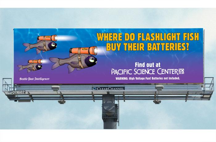 Glow Living Lights billboard