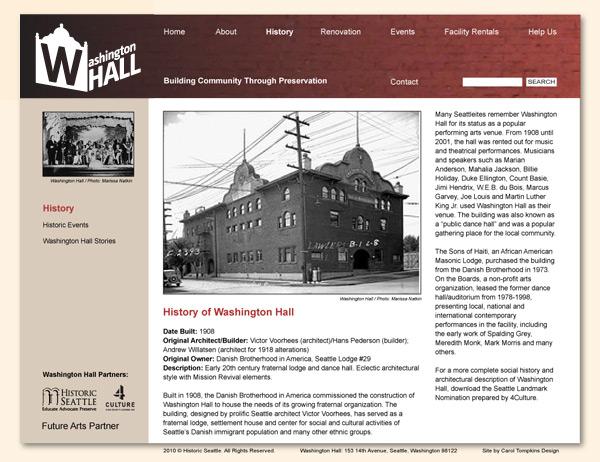 WaHall VisDesign 2, history.html