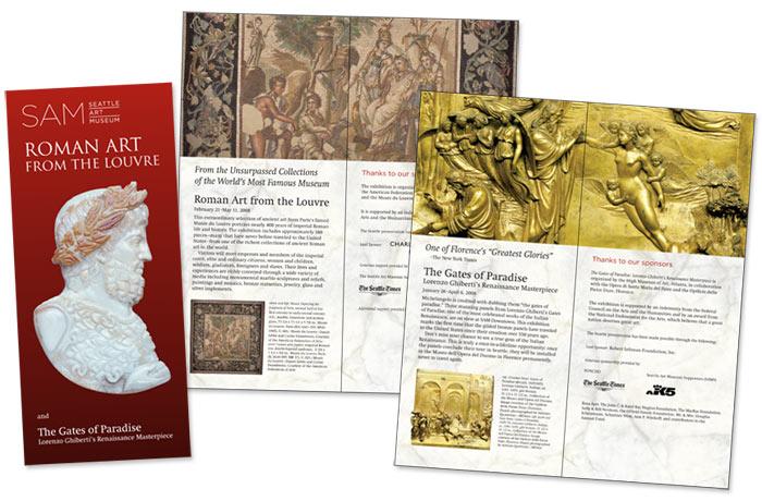 Roman Artwork from the Lourve — brochure