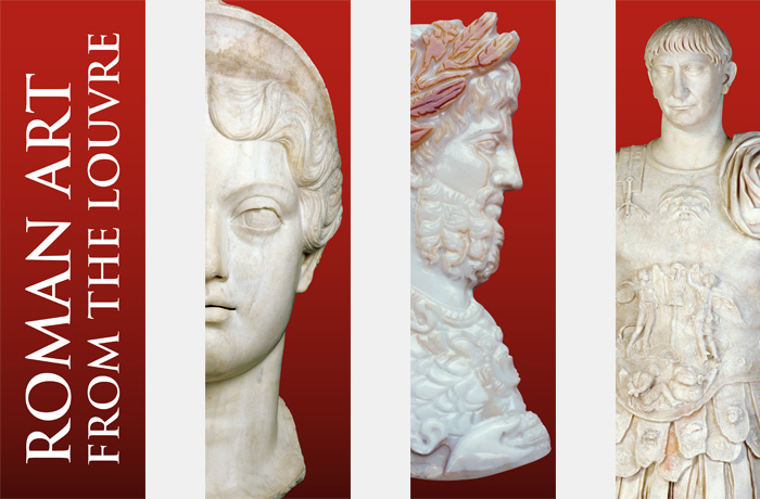 Roman Art from the Louvre streetbanners