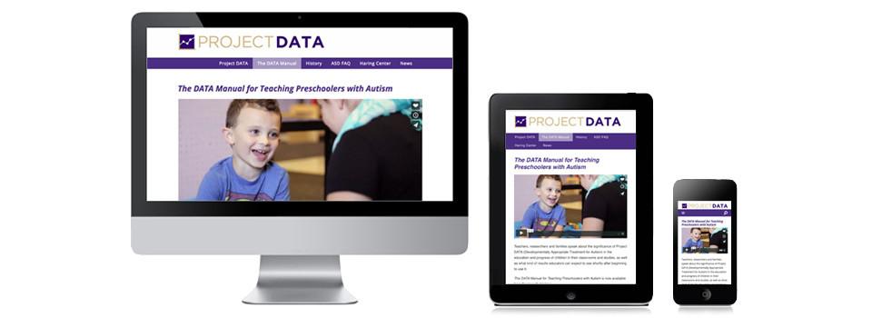 Website Design — Project DATA