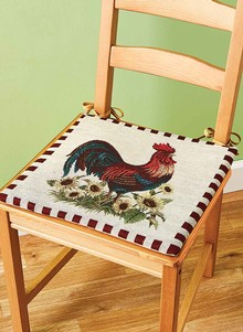 colorful accent chair upholstered chairs for sale rooster pads | carolwrightgifts.com
