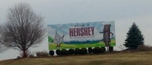 Hershey spring billboard