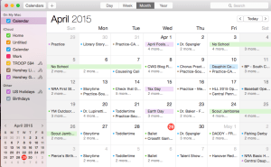 Crazy Calendar