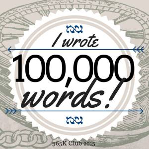 I Wrote 100,000 Words
